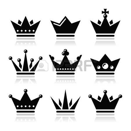 King crown clip art black and white jpg royalty free library 24,116 King Crown Stock Vector Illustration And Royalty Free King ... jpg royalty free library