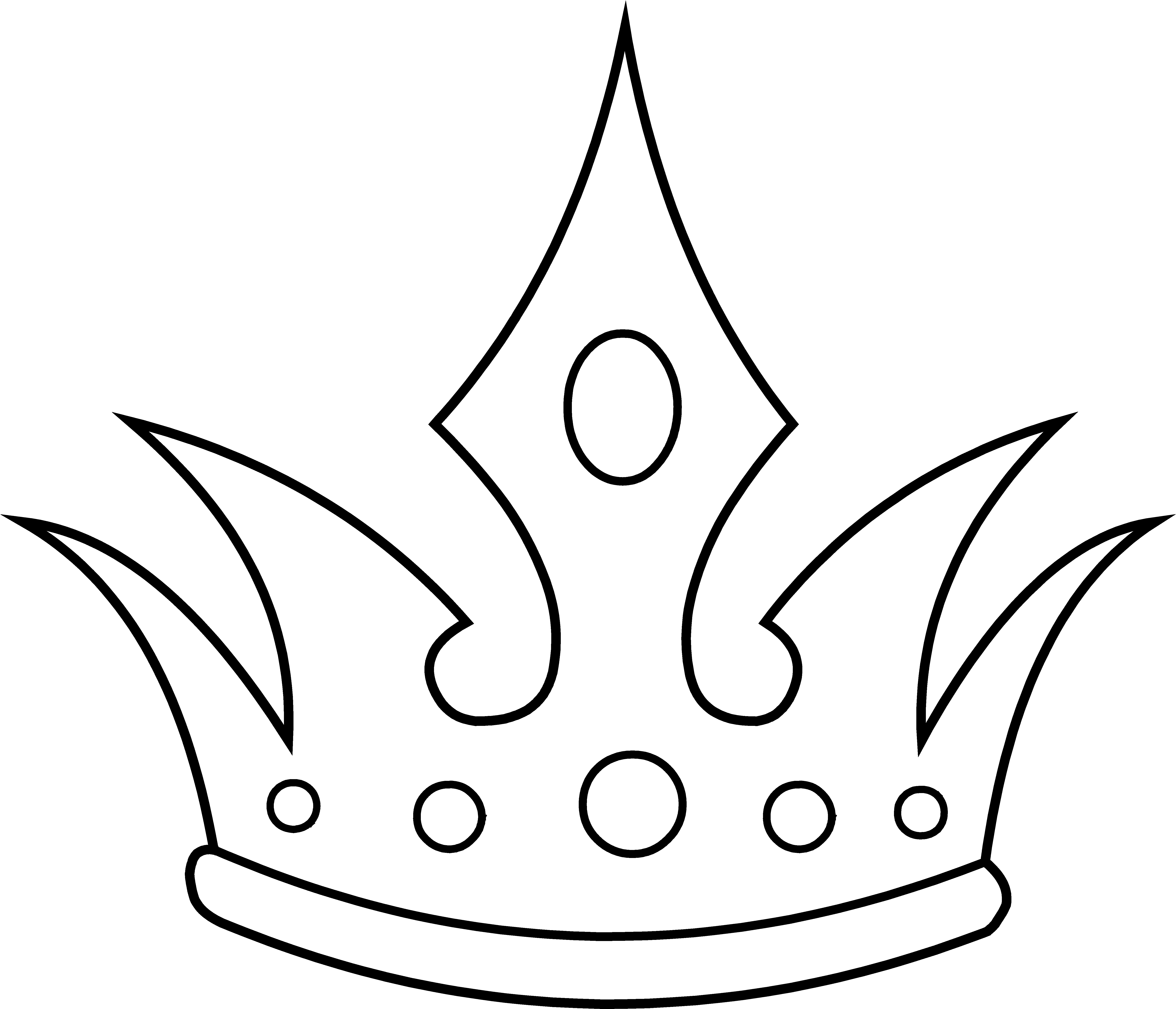 Sleeping beauty crown clipart black and white vector freeuse Black And White Crown | Free Download Clip Art | Free Clip Art ... vector freeuse