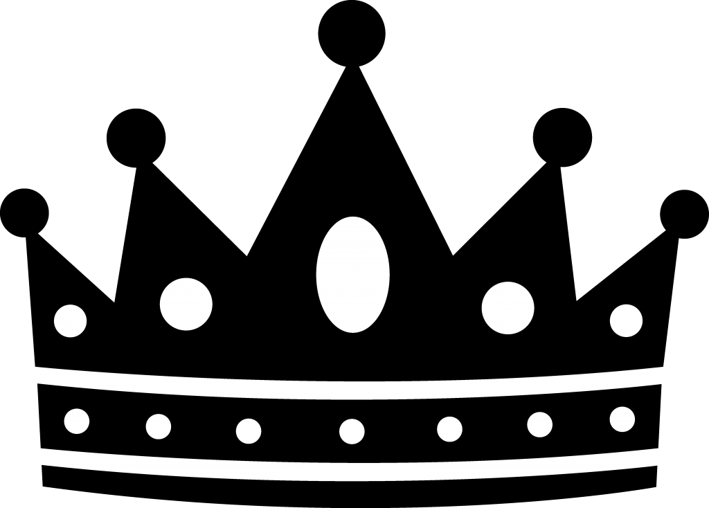 King crown clip art black and white image transparent 28+ Collection of Crown Clipart Png Black And White | High quality ... image transparent