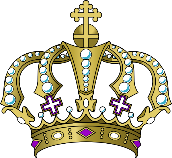 Crown clipart purple. Kid gold royal hi