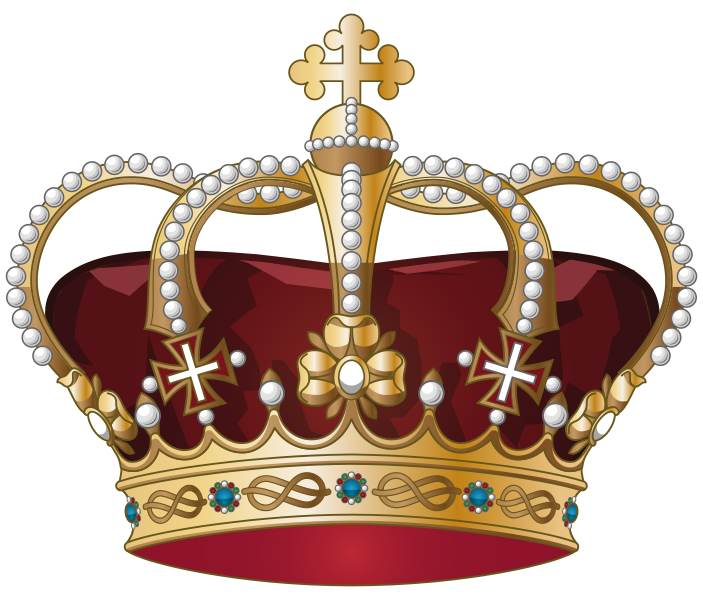King crown clipart png freeuse library File:Crown of Italy.svg - Wikimedia Commons png freeuse library