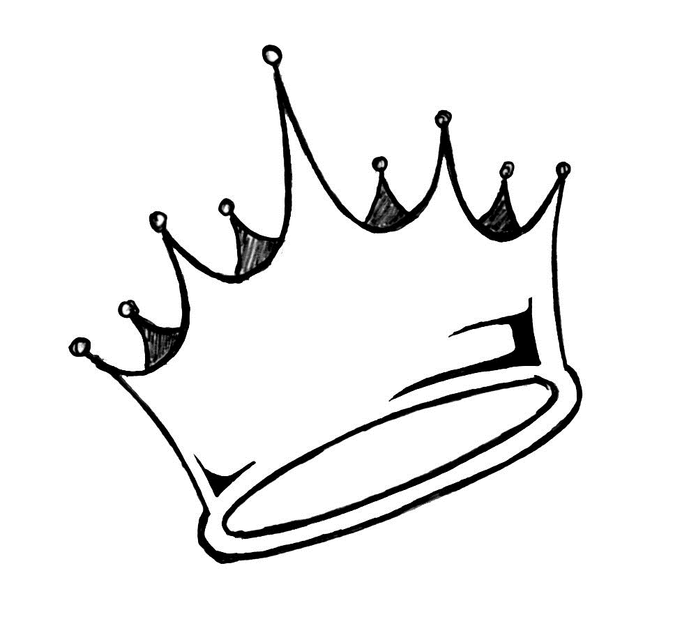 Valley of the king clipart black and white svg royalty free stock Queen crown black and white cliparts | icons in 2019 | Crown drawing ... svg royalty free stock