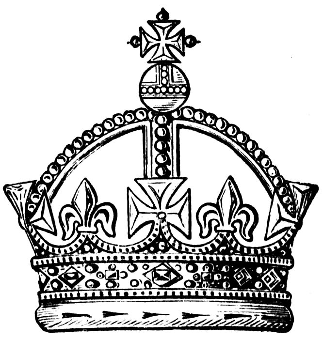 King crown clipart black and white 3d clipart library download Free Kings Crown, Download Free Clip Art, Free Clip Art on Clipart ... clipart library download