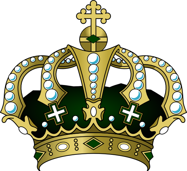 Crown clipart realistic