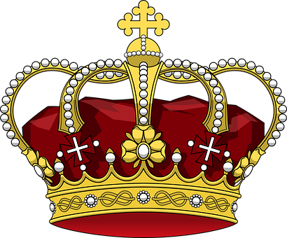 King crown clipart no background clip black and white download Crown - Free images on Pixabay clip black and white download