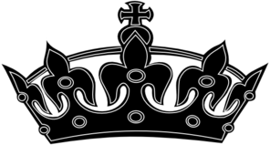 King crown clipart png clip art black and white Black White Crown Clip Art at Clker.com - vector clip art online ... clip art black and white