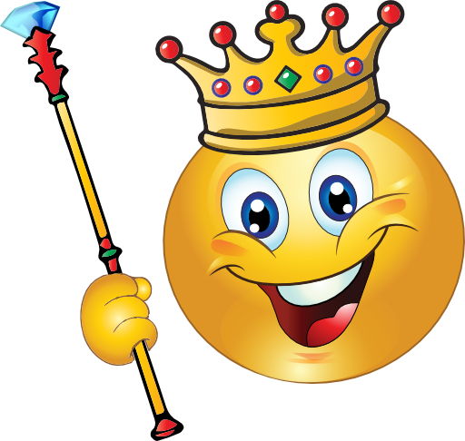 King emoji clipart png freeuse King Smiley Face | *EMOTICONS* | Emoticon, Emoji drawings, Smiley emoji png freeuse