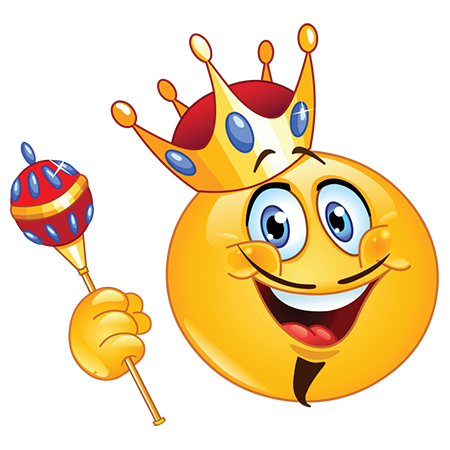 King emoji clipart graphic library download King Smiley | Emoticons for Facebook | Facebook emoticons, Emoticon ... graphic library download
