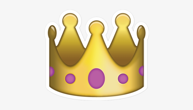 King emoji clipart picture library Crown King Cute Fab - Emoji De Una Corona Transparent PNG - 446x389 ... picture library