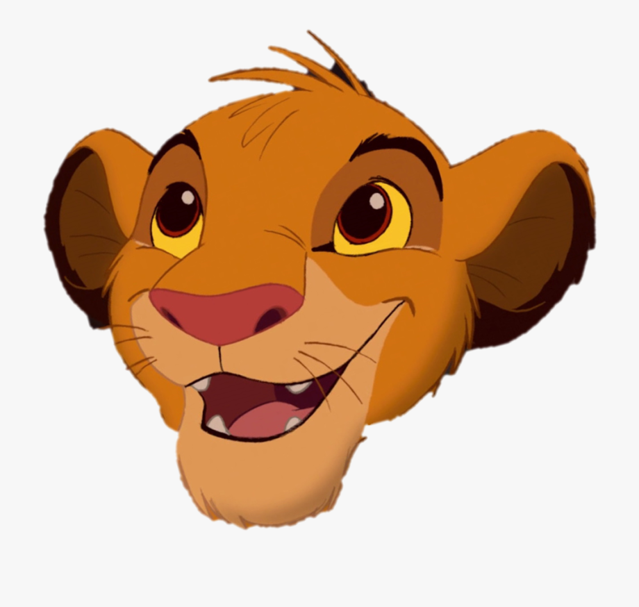 King face clipart image library Lion Face Png - Simba Cub Lion King #483395 - Free Cliparts on ... image library