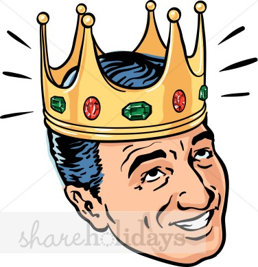 King for the day crown clipart image freeuse library Crown King Clipart | Fathers Day Clipart & Backgrounds image freeuse library