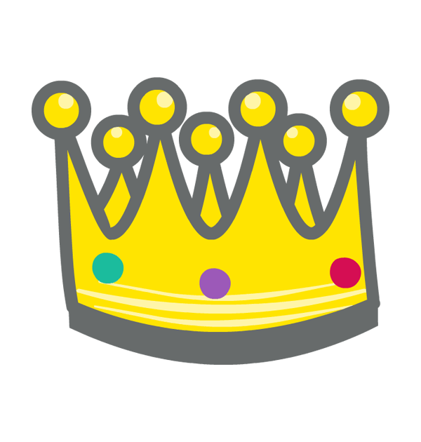 King for the day crown clipart vector freeuse clip art king martin luther day crown vector freeuse