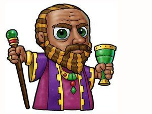 King herod clipart picture royalty free download King Herod. – Slide 24 | Sunday School | Png format, Bible images, A ... picture royalty free download