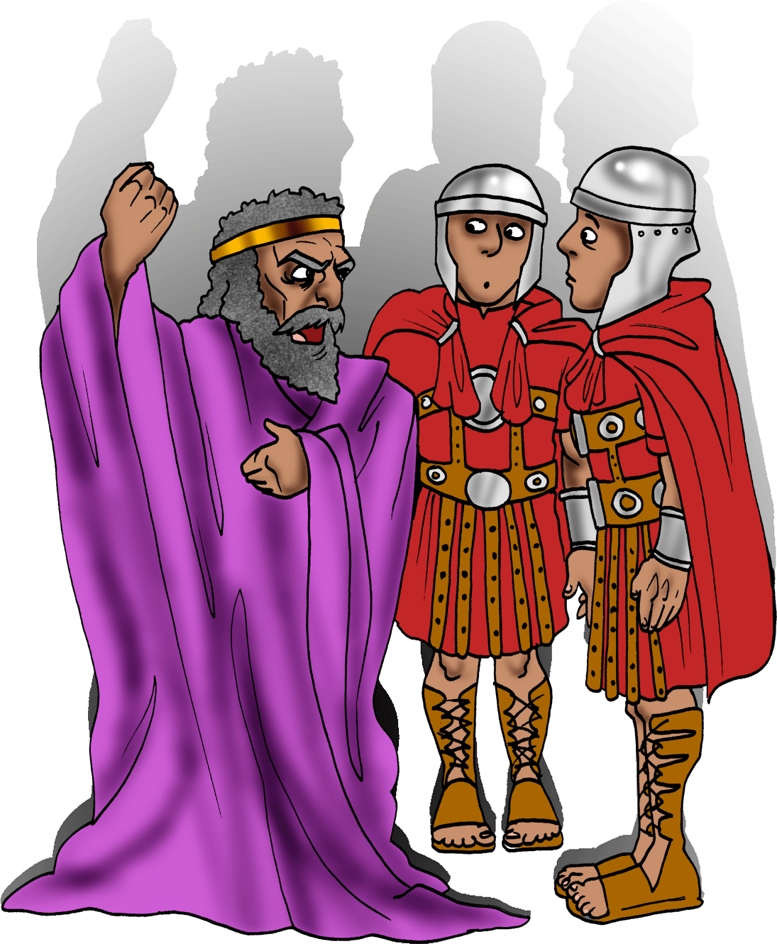 King herod clipart clip art transparent download King Herod was not happy that Yeshua (Jesus) and His parents had ... clip art transparent download