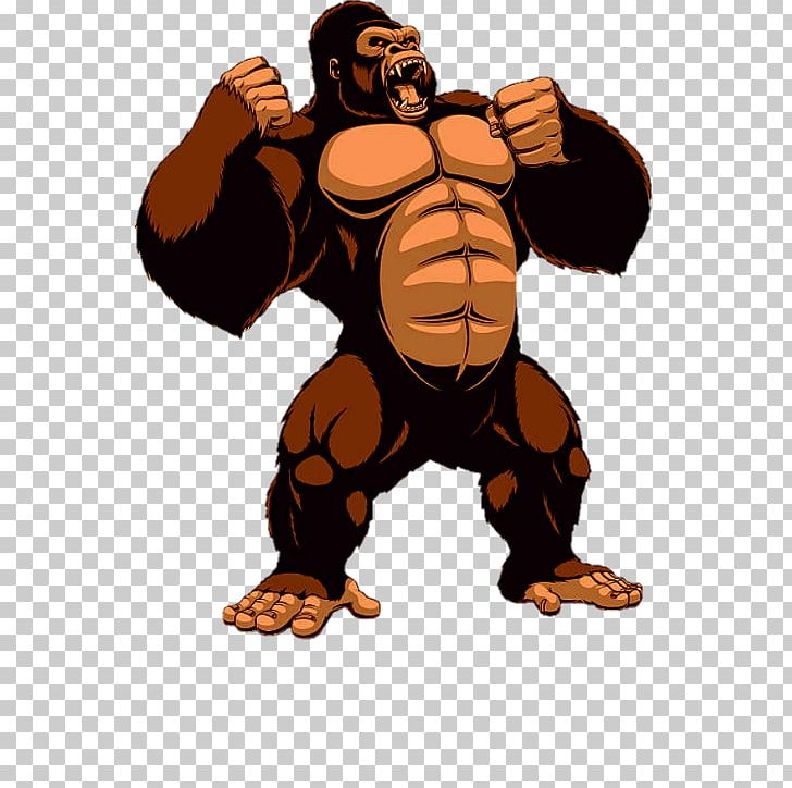 King kong clipart clipart library library Gorilla King Kong PNG, Clipart, Animals, Arm, Carnivoran, Cartoon ... clipart library library