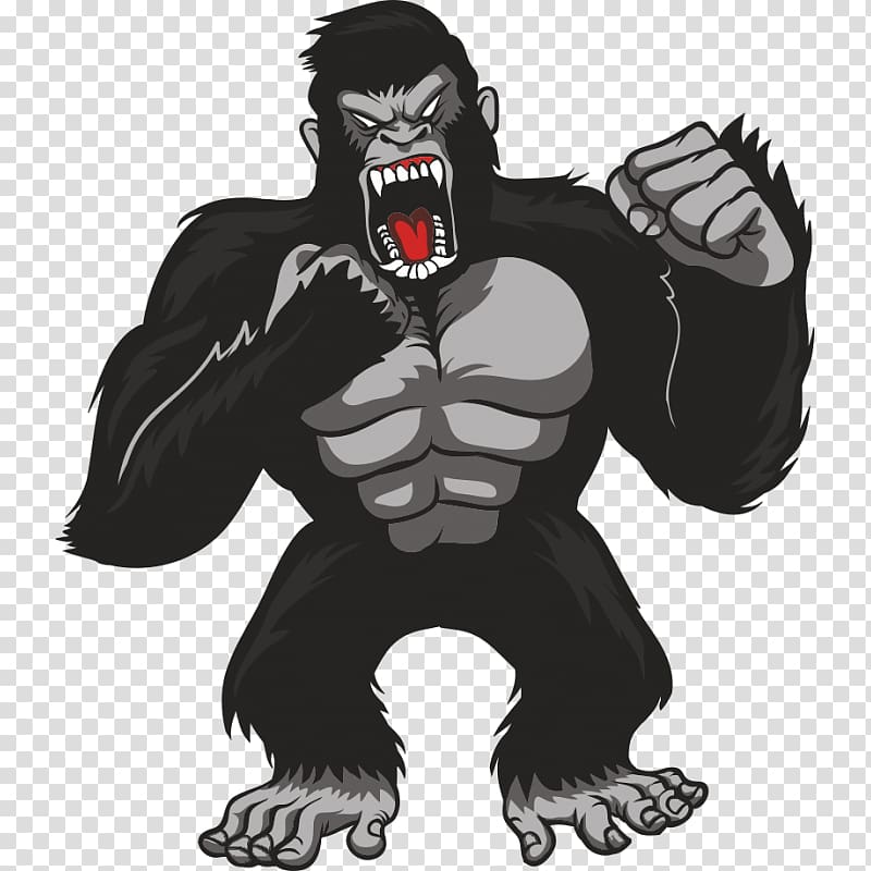 King kong clipart royalty free Gorilla graphics T-shirt King Kong, gorilla transparent background ... royalty free