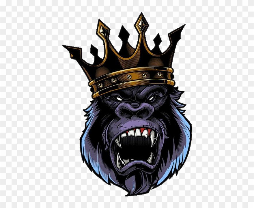 King kong clipart png royalty free King Kong - Gorilla King Clipart (#648560) - PinClipart png royalty free
