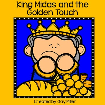 King midas and the golden touch clipart picture freeuse library The Golden Touch Worksheets & Teaching Resources | TpT picture freeuse library