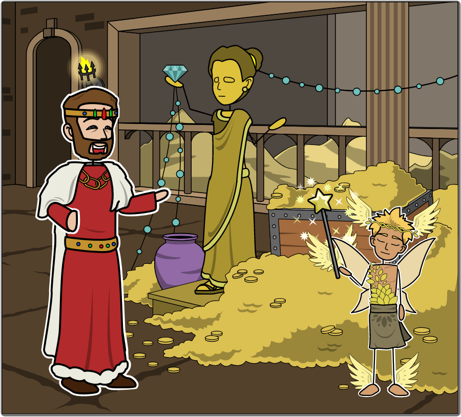 King midas and the golden touch clipart graphic library download King Midas and the Golden Touch | King Midas\' Golden Touch graphic library download