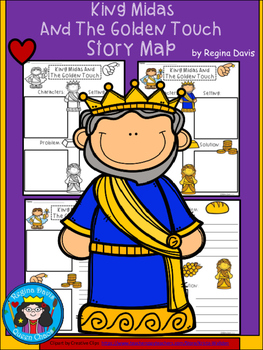 King midas and the golden touch clipart graphic library download The Golden Touch Worksheets & Teaching Resources | TpT graphic library download