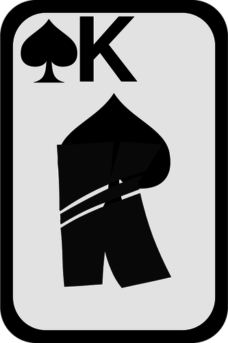 King of spades clipart clip art King of Spades funky playing card vector clip art | Public ... clip art