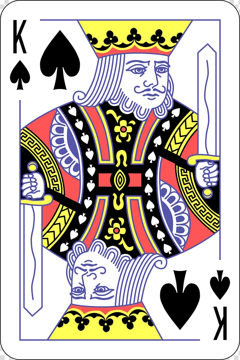 King of spades clipart clip download King of spade playing card, King of spades Playing card Suit ... clip download
