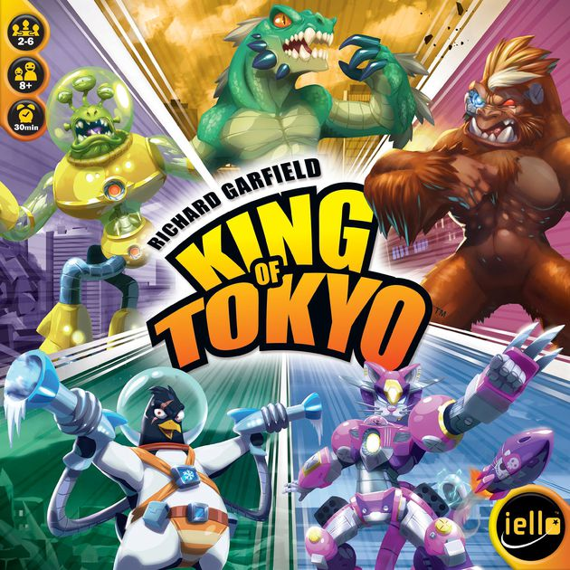 King of the monsters 2 clipart image freeuse library King of Tokyo | Board Game | BoardGameGeek image freeuse library