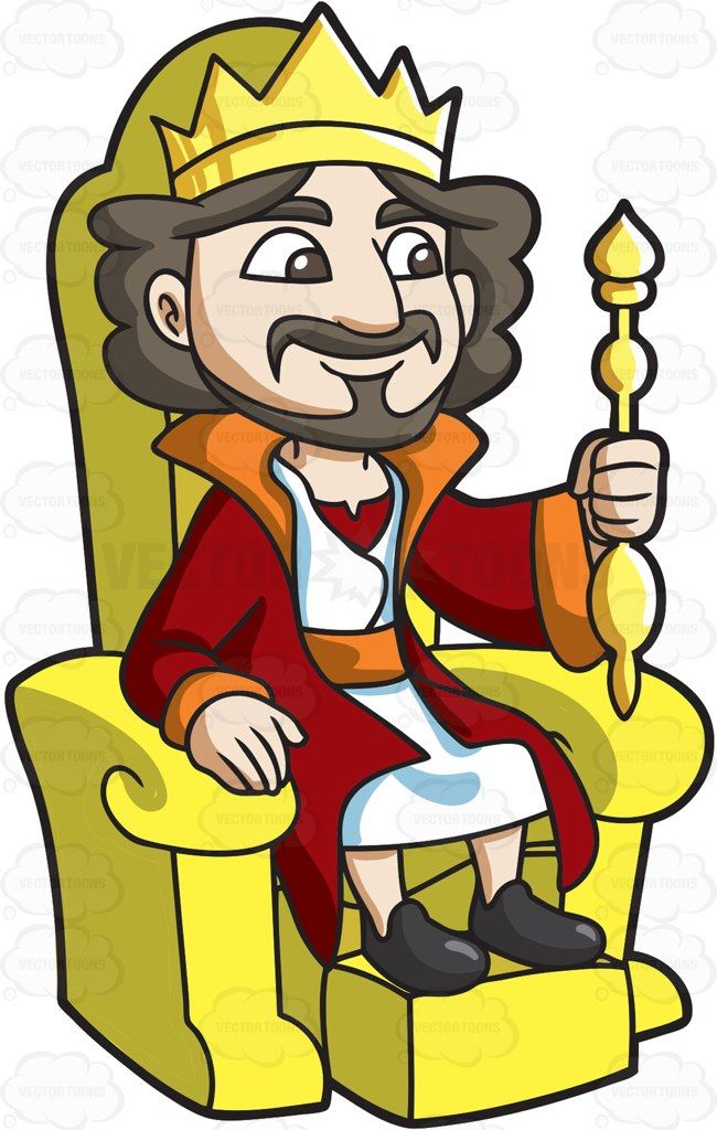 King on throne clipart black and white image royalty free library A King sitting on his throne : A man with dark hair mustache and ... image royalty free library