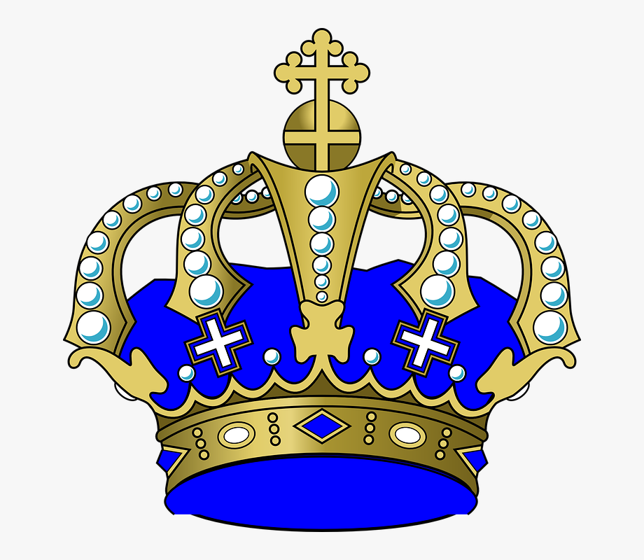 King power clipart jpg download Crown, Jewels, Cross, Blue, King, Power - Boy Crown Clip Art ... jpg download