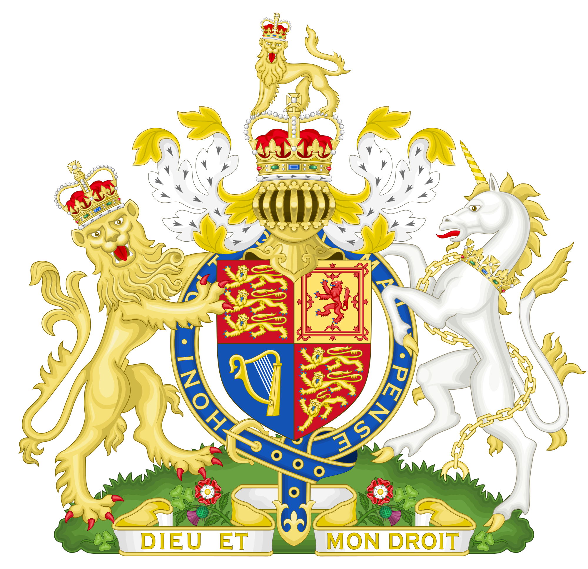 King s royal seal crown clipart jpg transparent stock Royal coat of arms of the United Kingdom - Wikipedia jpg transparent stock
