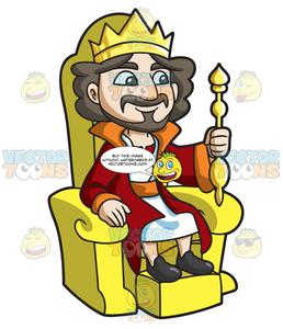 King throne clipart clip library download A King Sitting On His Throne clip library download