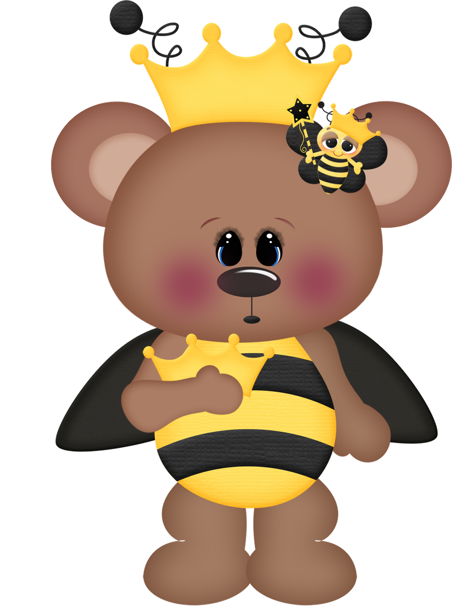 Kingbee clipart svg free stock Abelhinhas - Minus | Insect clip | Bee clipart, King bee, Teddy bear ... svg free stock