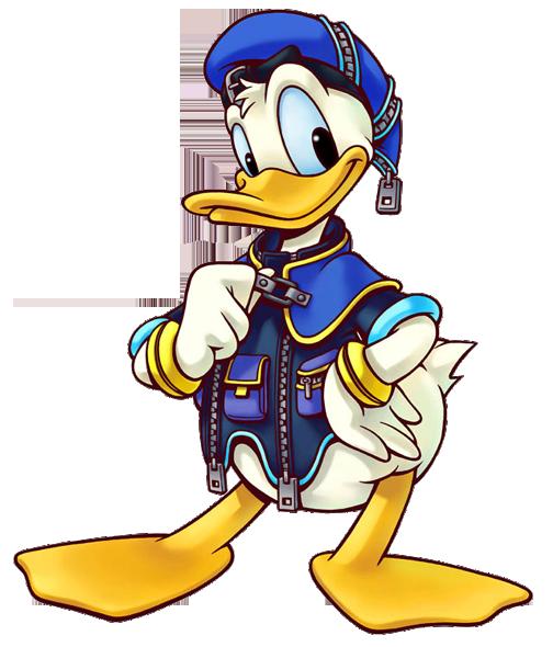 Kingdom hearts clipart picture black and white stock Donald Duck Kingdom Hearts Clipart picture black and white stock