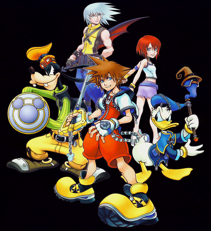 Kingdom hearts clipart vector black and white Kingdom hearts clipart sora - ClipartFox vector black and white