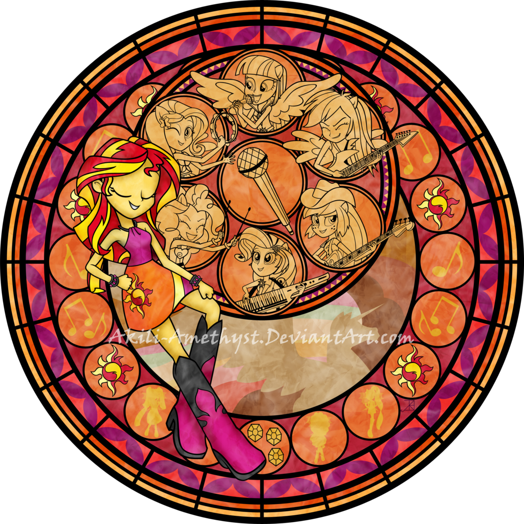 Stained glass cross clipart clipart free Kingdom Hearts Stained Glass favourites by CoastGuardBrony1 on ... clipart free
