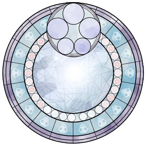 Kingdom hearts clipart stained glass clip art library Kingdom Hearts Style Stain Glass (Bleach Edition) - DevWebPro clip art library