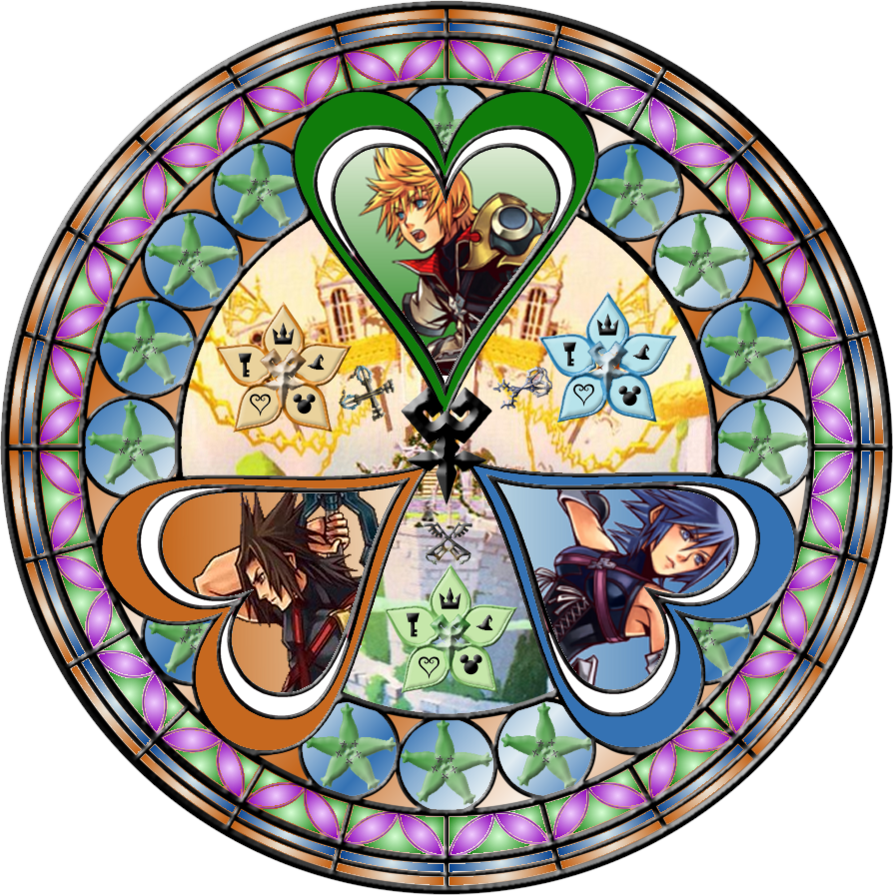 Kingdom hearts clipart stained glass vector library 1000+ images about Stained Glass on Pinterest | Disney, Stains and ... vector library