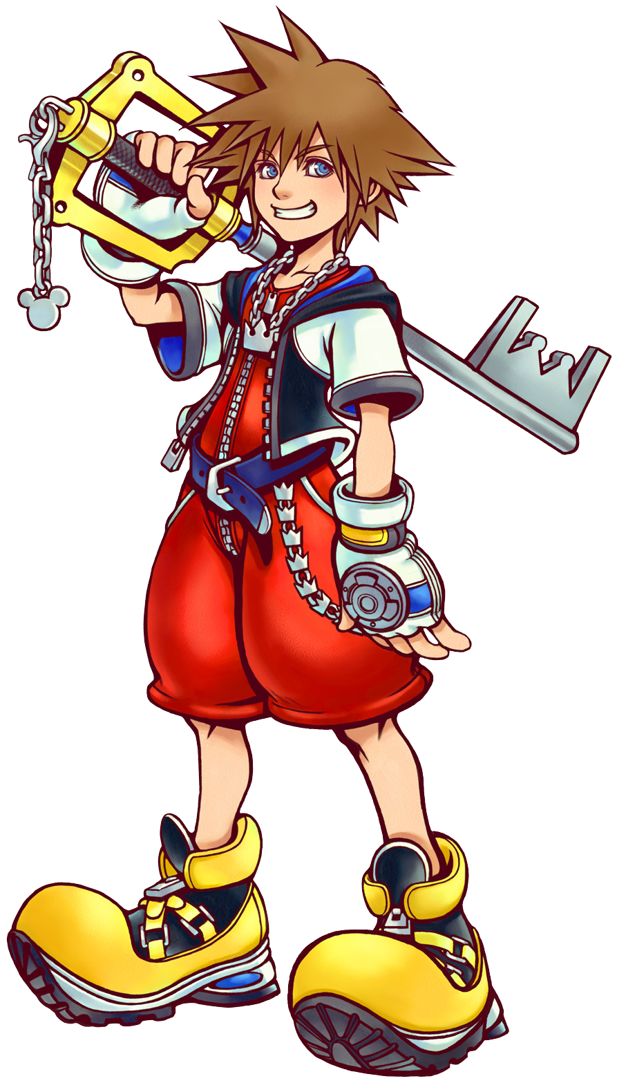 Kingdom hearts crown clipart png transparent download Official art of Sora. Main character. Age 14. As a teenager he has ... png transparent download