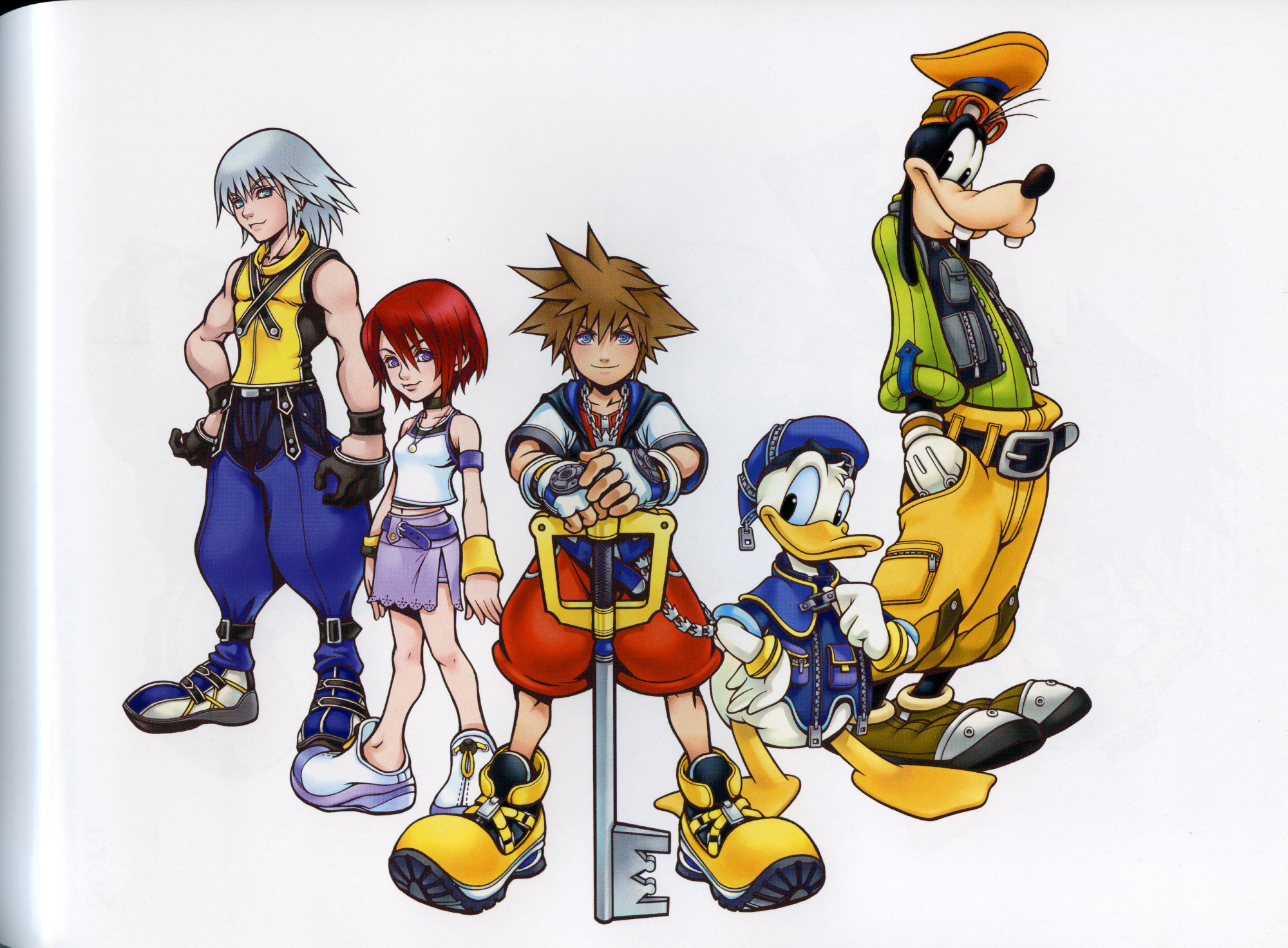 Kingdom hearts phone clipart image black and white Index of /lib/Kingdom Hearts/Kingdom Hearts Artbook image black and white