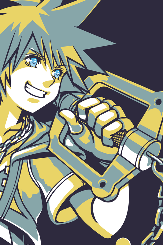Kingdom hearts phone clipart picture black and white iPhone Wallpapers - Kingdom Hearts Insider picture black and white