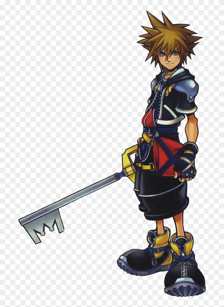 Kingdom hearts sora clipart clip art black and white stock Kingdom Hearts Clipart Sora - Png Download (#2442260) - PinClipart clip art black and white stock