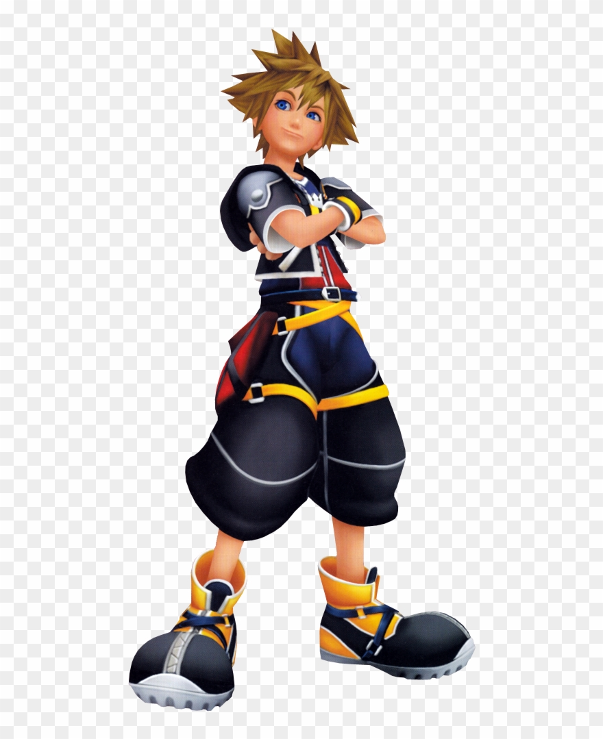 Kingdom hearts sora clipart jpg black and white stock Kingdom Hearts Clipart Sora - Sora Kingdom Hearts - Png Download ... jpg black and white stock