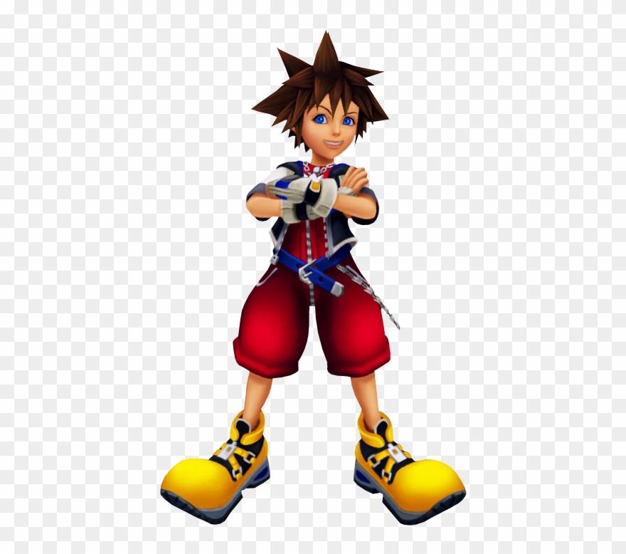 Kingdom hearts sora clipart vector royalty free download Kingdom Hearts 1 Sora Png - Sora Kingdom Hearts Model Clipart ... vector royalty free download