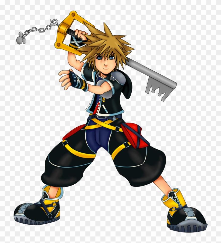 Kingdom hearts sora clipart image Kingdom Hearts 2 Sora Clipart - Png Download (#2405805) - PinClipart image