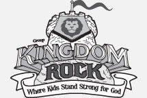Kingdom rock clipart banner transparent download Kingdom Rock VBS 2013 clip art vector logo, hand out to Sunday ... banner transparent download