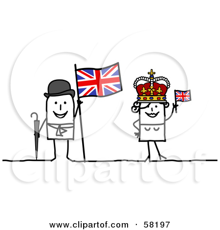 Kingdom with people clipart freeuse Royalty-Free (RF) Clipart Illustration of a Stick People Character ... freeuse