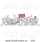 Kingdom with people clipart image royalty free stock Royalty Free United Kingdom Stock Stick People Designs image royalty free stock