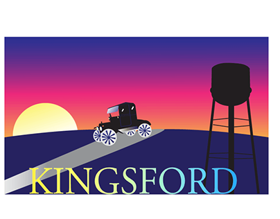 Kingsford logo clipart clip transparent library Kingsford Logo on Behance clip transparent library