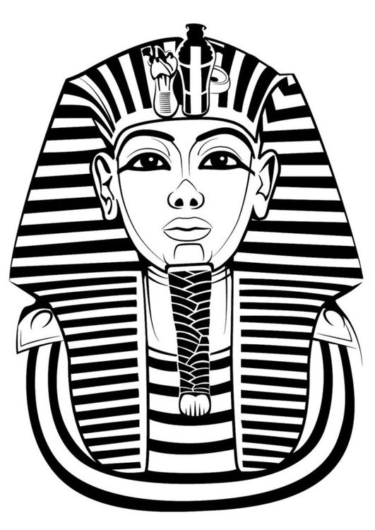 Kingtut clipart image black and white library King tut clipart 1 » Clipart Station image black and white library