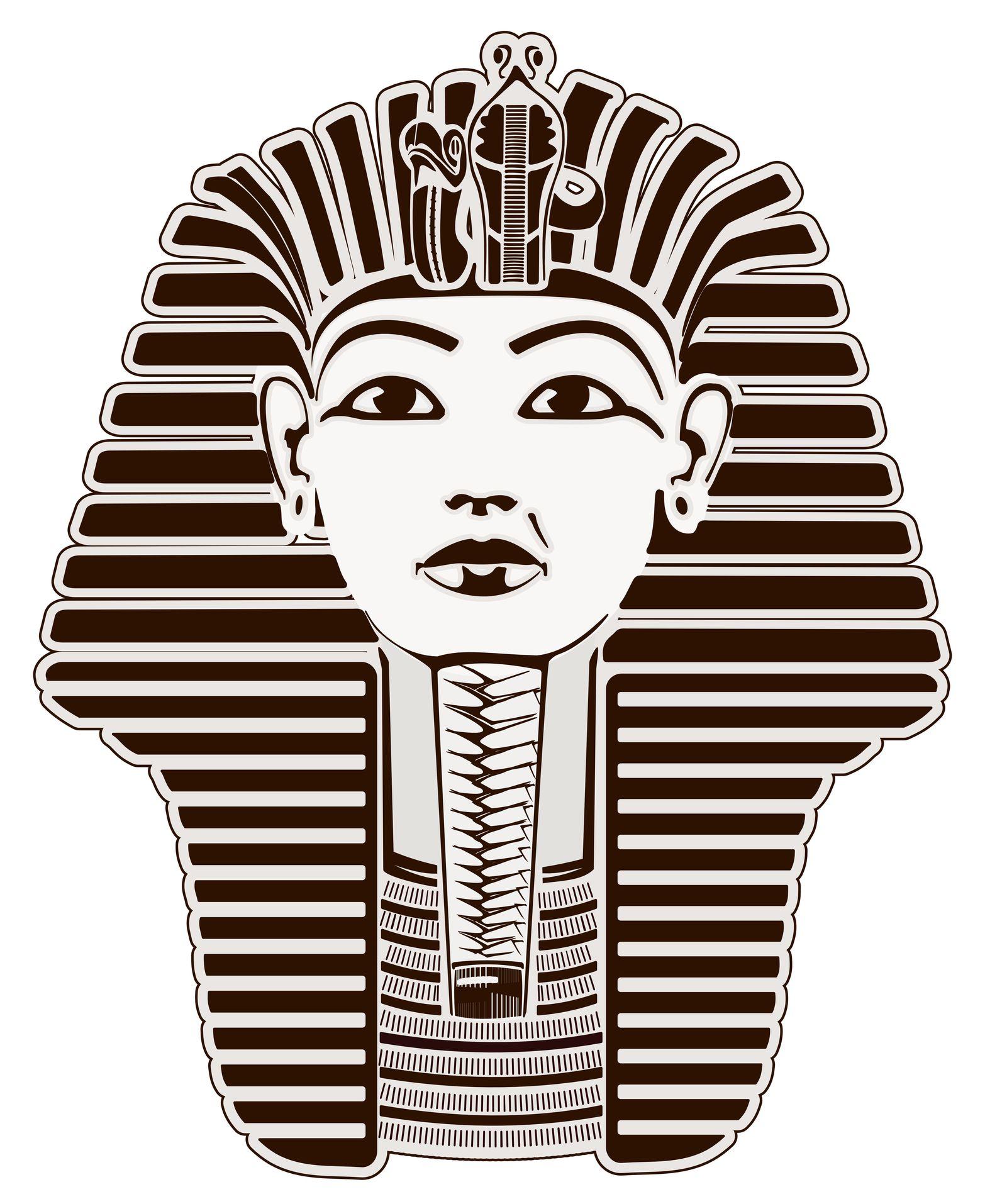 Kingtut clipart jpg royalty free download Black & White King Tut | Tattoo | King tut tattoo, Egyptian tattoo ... jpg royalty free download